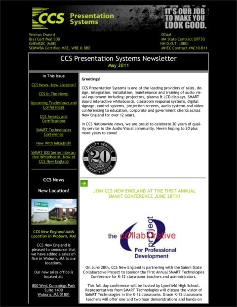 May-2011-Newsletter