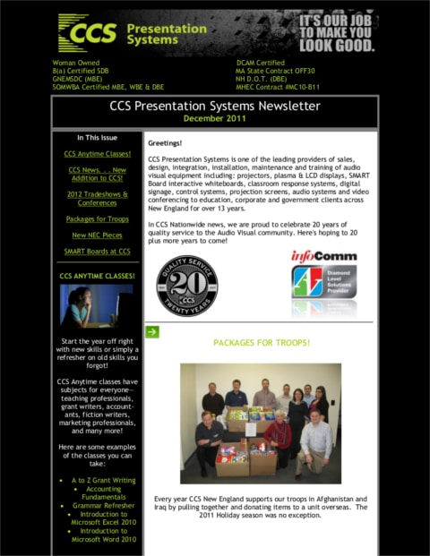 January-2012-Newsletter