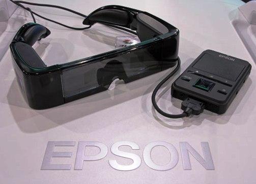 Epson's Moverio Smart Glasses