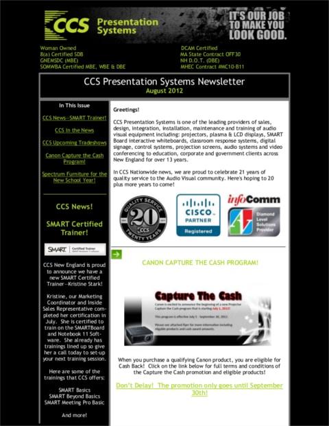 August-2012-Newsletter