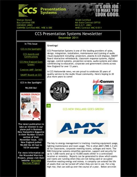 December-2011-Newsletter