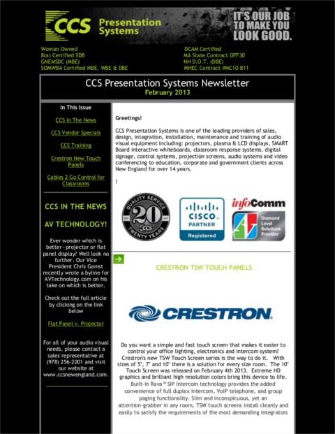 February-2013-Newsletter