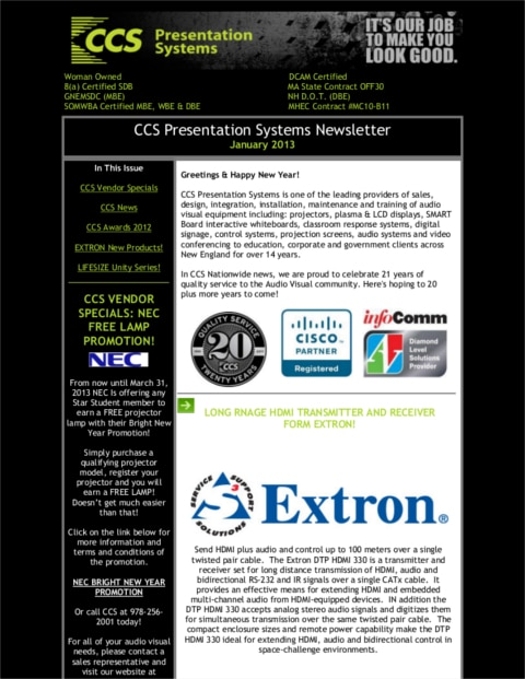 January-2013-Newsletter