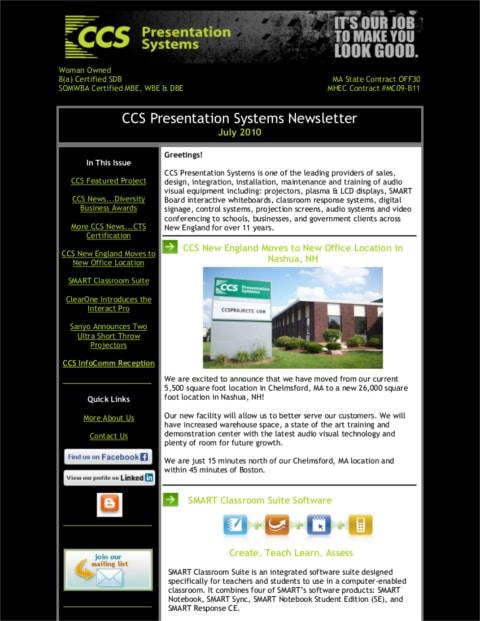 July-2010-Newsletter