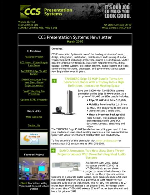 March-2010-Newsletter