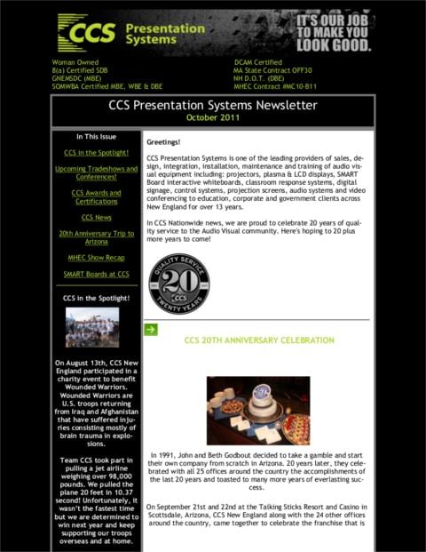 October-2011-Newsletter