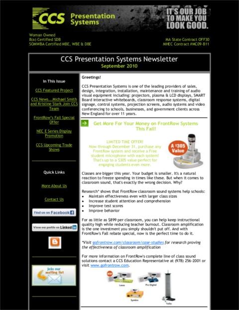 September-2010-Newsletter