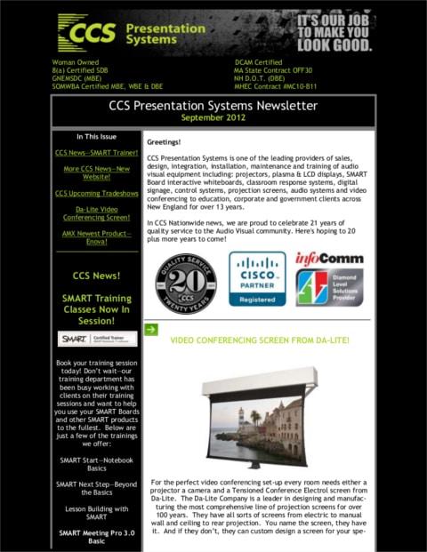 September-2012-Newsletter