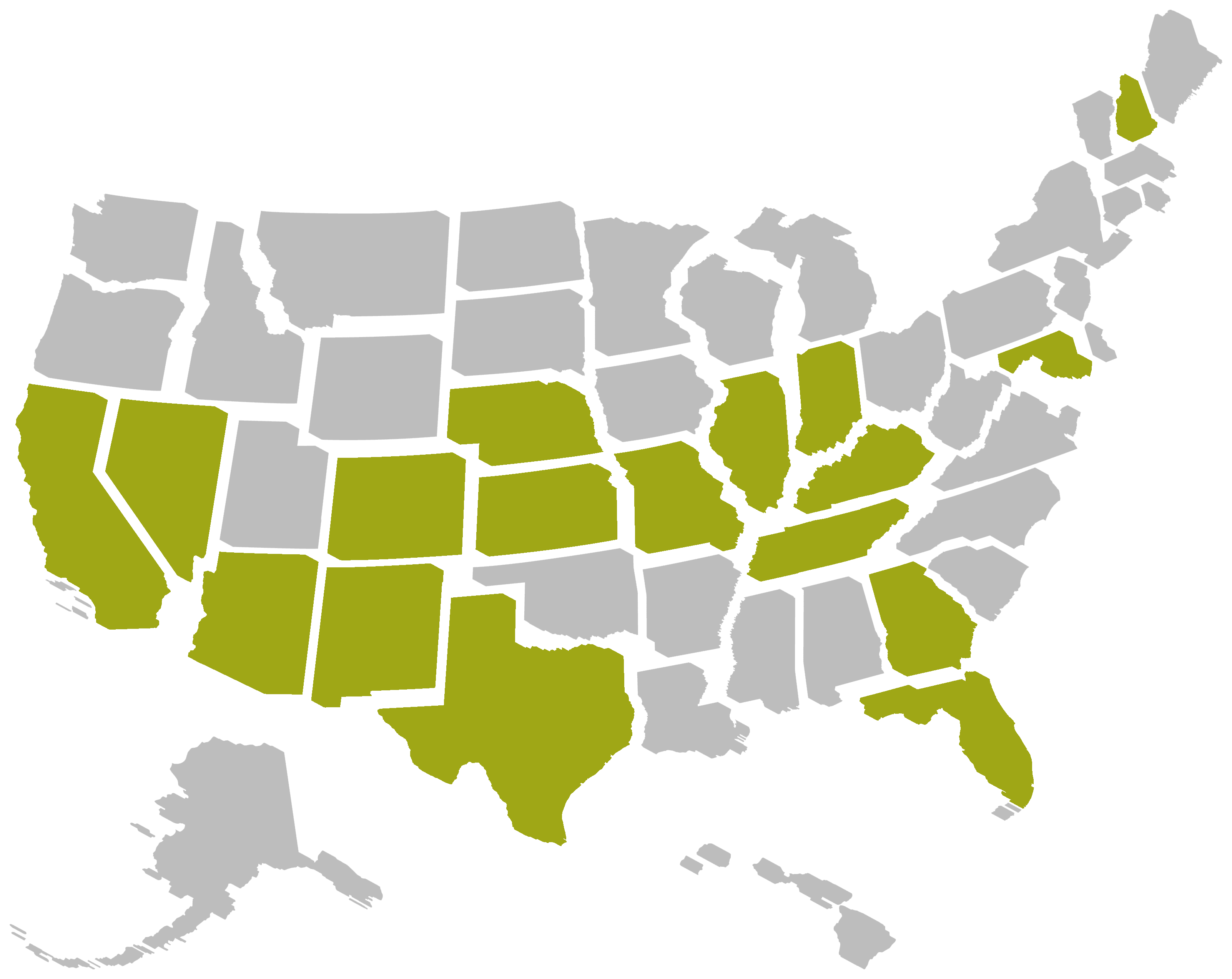 CCS US by state