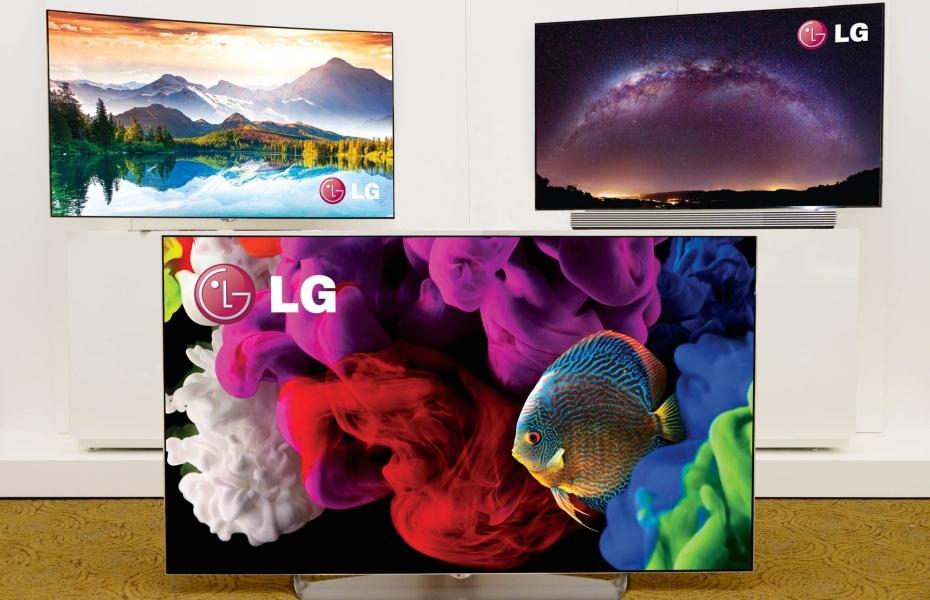 LG 4K OLED TVs fb